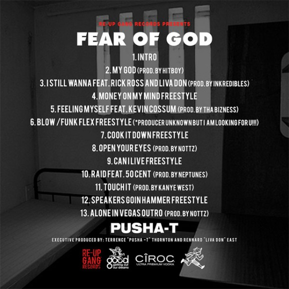 Mixtape: Pusha T – Fear of God « On The Next Step